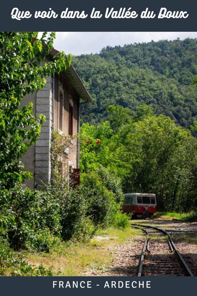 Que faire et que voir dans la Vallée du Doux en Ardèche : Gorges , vélorail et villages de caractère