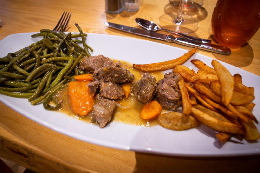 boeuf fin gras du Mézenc à l'Hôtel Restaurant Beauséjour au Béage