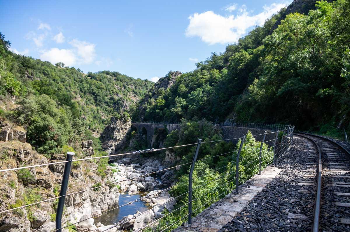 La vallée du Doux en Ardèche