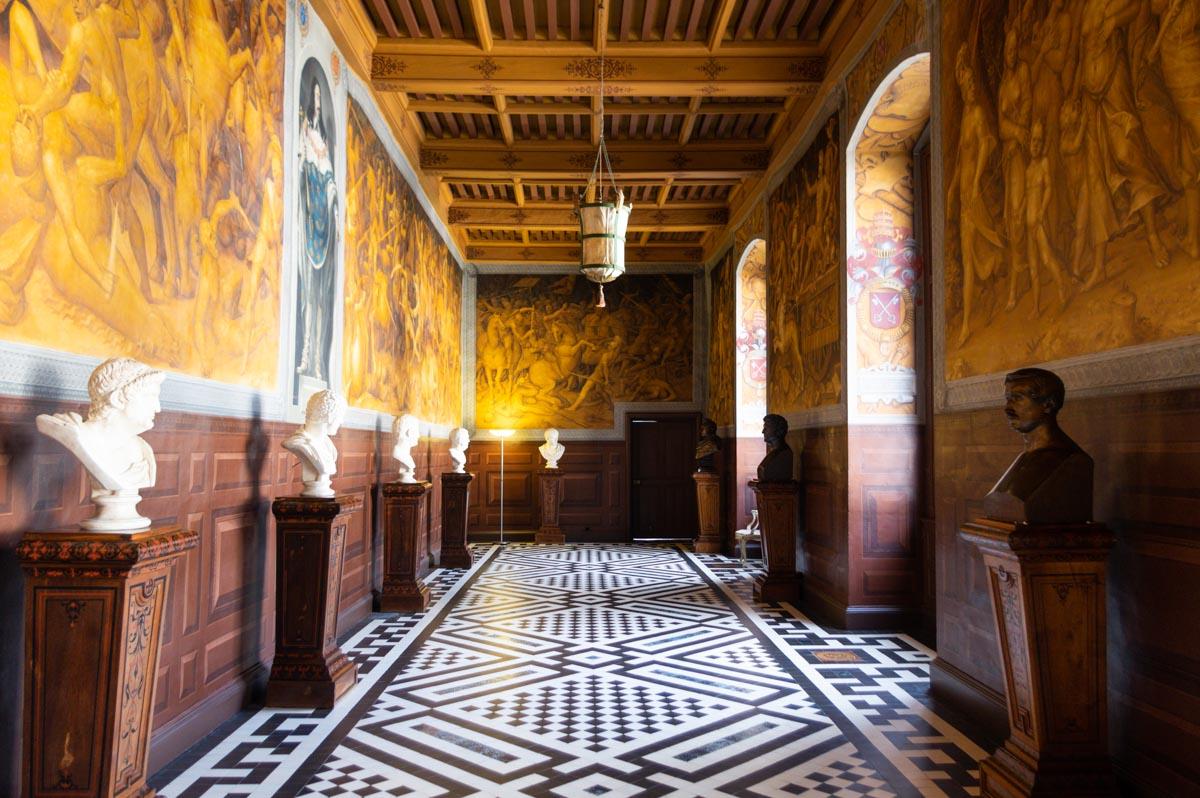 Fresques - Château d'Ancy le Franc
