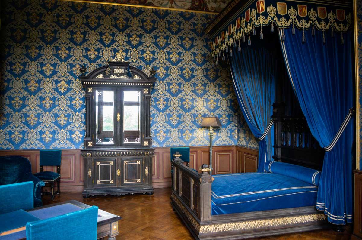 Chambre à coucher - Château d'Ancy le Franc