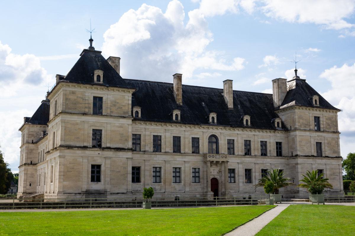 le château d'Ancy le France