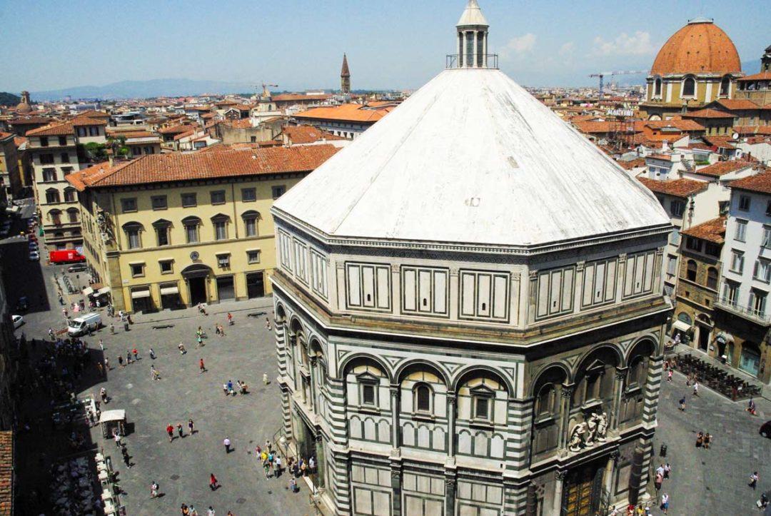 le baptistère de Florence