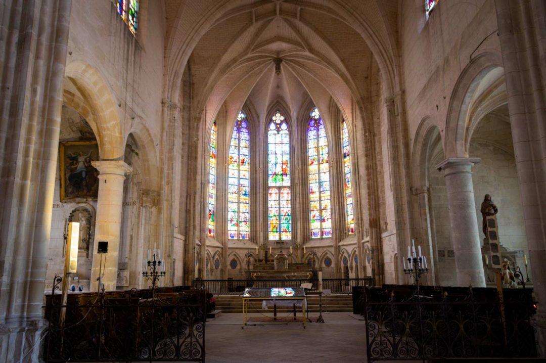 Eglise Saint-Pierre à Tonnerre