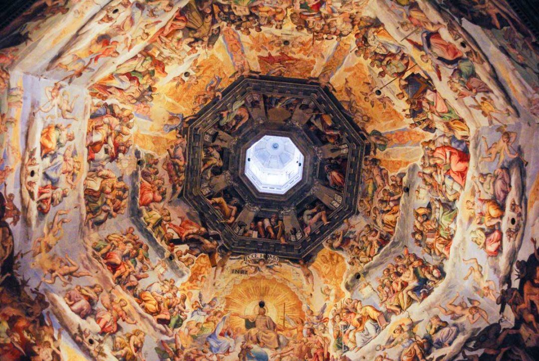 la fresque de la coupole du Duomo de Florence
