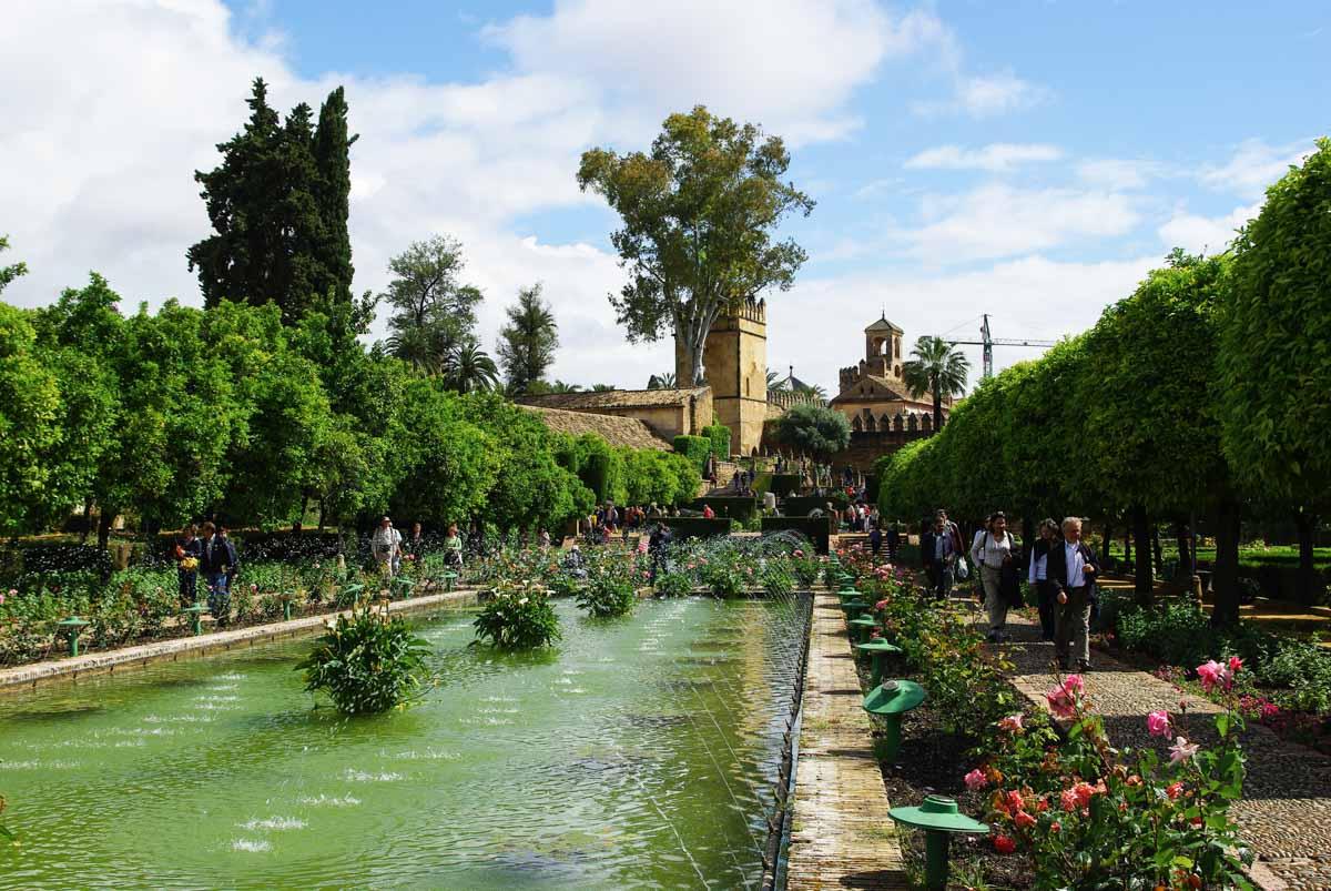 les jardins de l'Alcazar de Cordoue