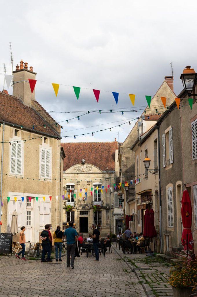 le centre historique de Noyers-sur-Serein