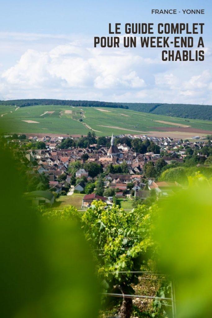 le guide complet pour un week-end culturel et gastronomique à Chablis : dégustation de vins, balade dans les vignobles, découverte de villages de caractère et visite de château Renaissance